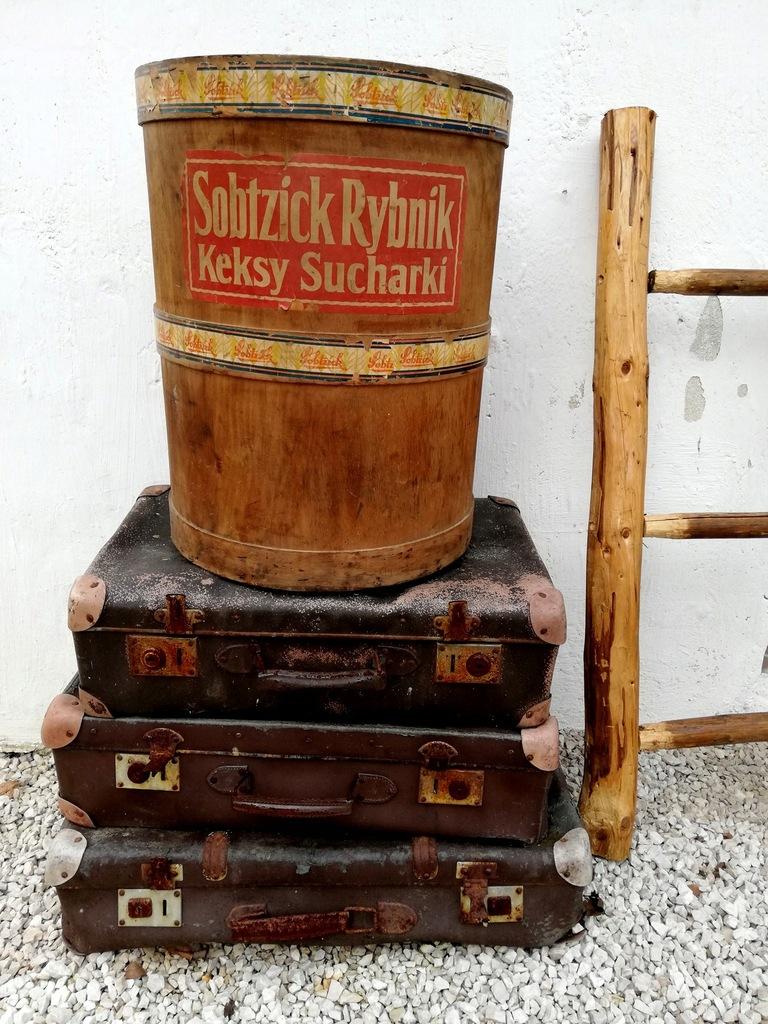 Stary pojemnik na ciastka Sobtzick Rybnik - unikat