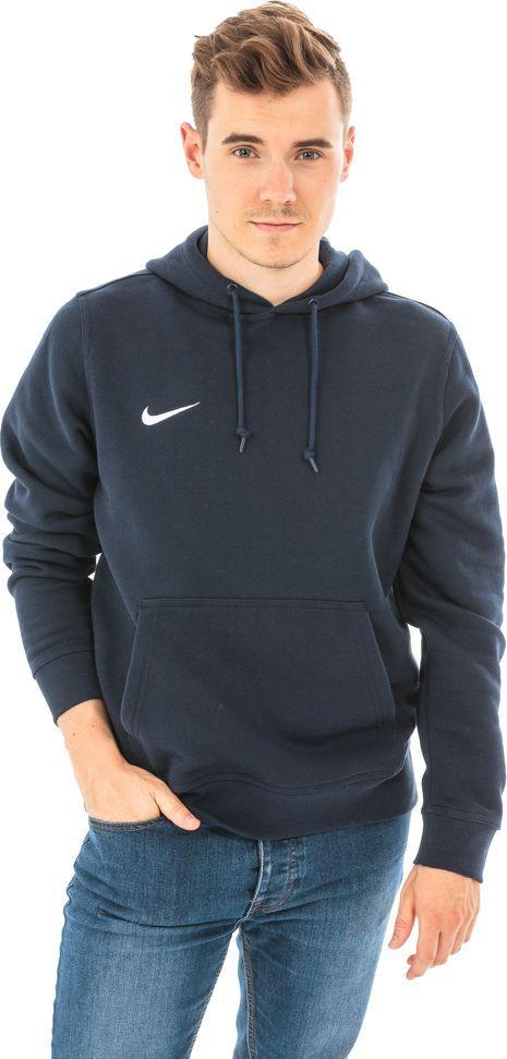 Nike Bluza męska Team Club Hoody granatowa r. XL (