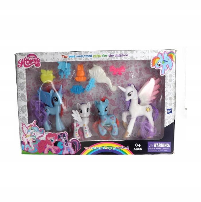 My Little Pony Super Kucyki 4 Postacie 8 12cm 7782963496 Oficjalne Archiwum Allegro