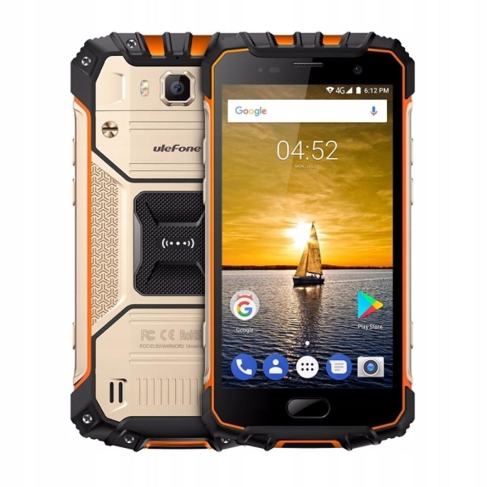 Telefon Ulefone Armor 2 IP68 6/64GB A7.0 NFC Złoty