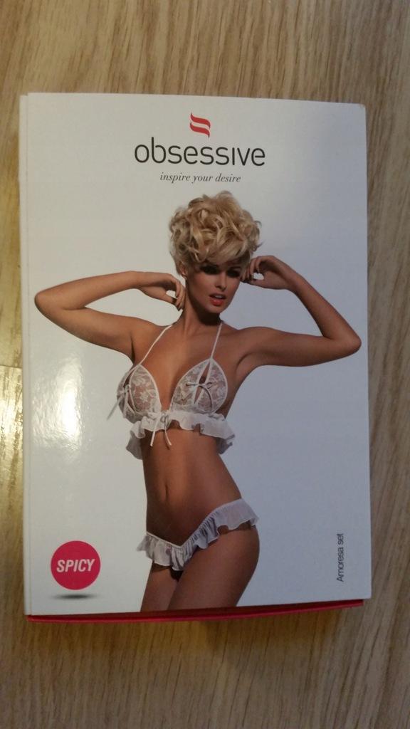 Obsessive - Amoresa set rozmiar S/M