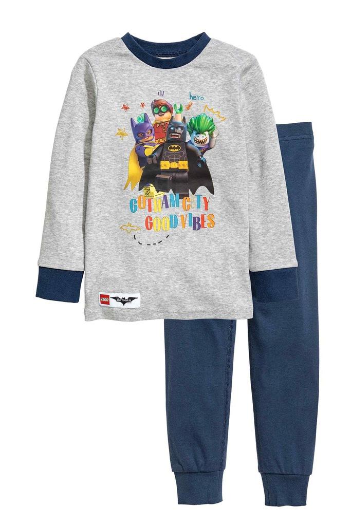 H&M SUPER piżama 2 częściowa LEGO BATMAN 104