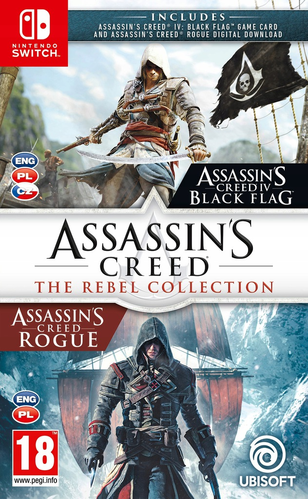 Assassin S Creed The Rebel Collection Pl Switch 8789369115 Oficjalne Archiwum Allegro