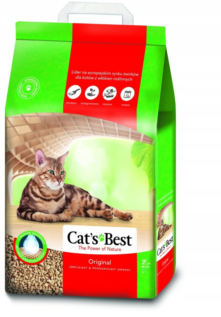 CAT'S BEST Original 7l, 3 kg