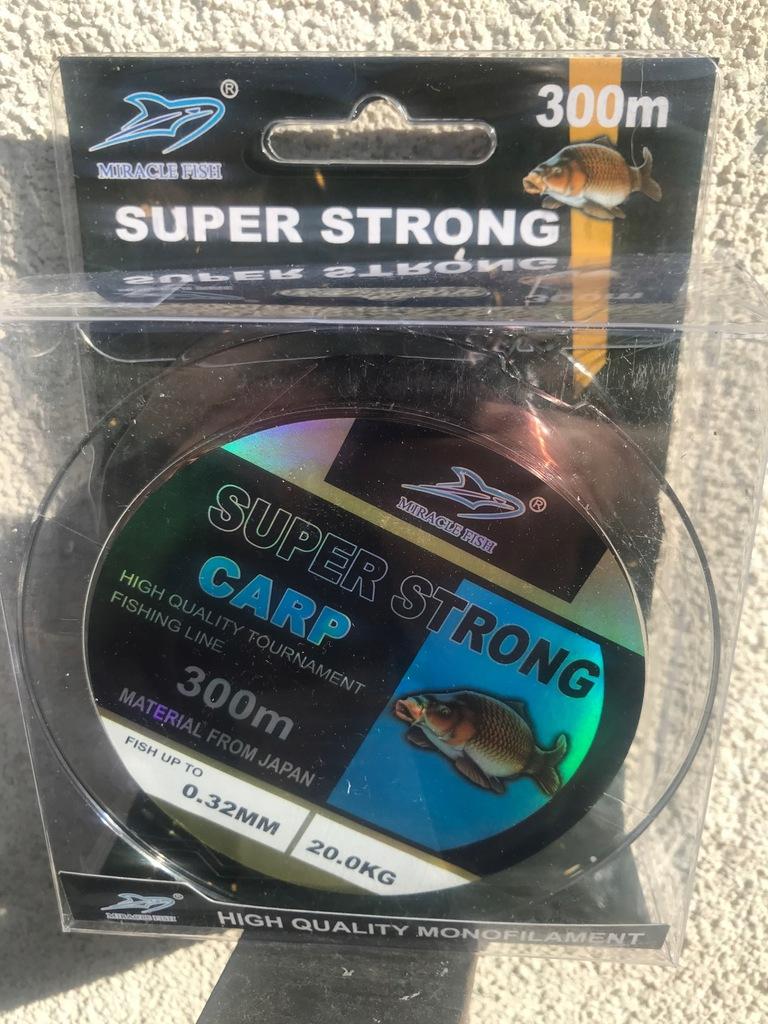 ŻYŁKA WĘDKARSKA MIRACLE FISH 300mSUPER 0,25mm,13kg