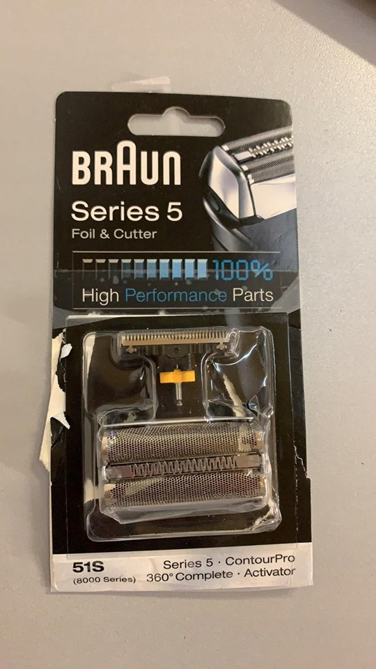 B8768 BRAUN SERIES 5 51S OSTRZE DO GOLARKI