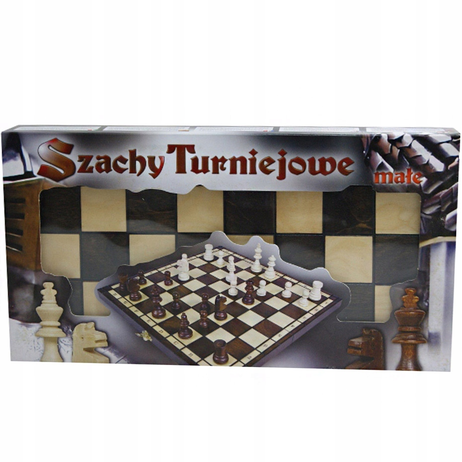 Szachy turniejowe małe Mag