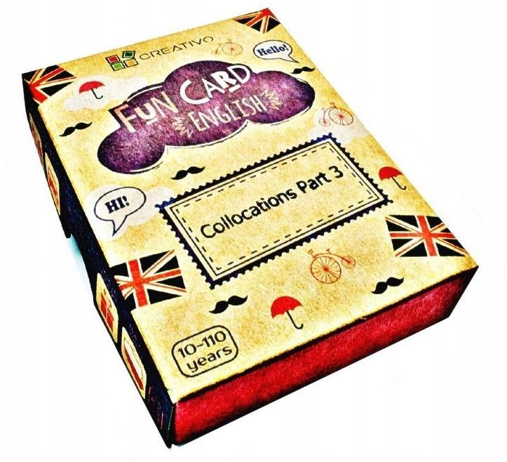Fun Card English Collocations Part 3 CREATIVO Cre