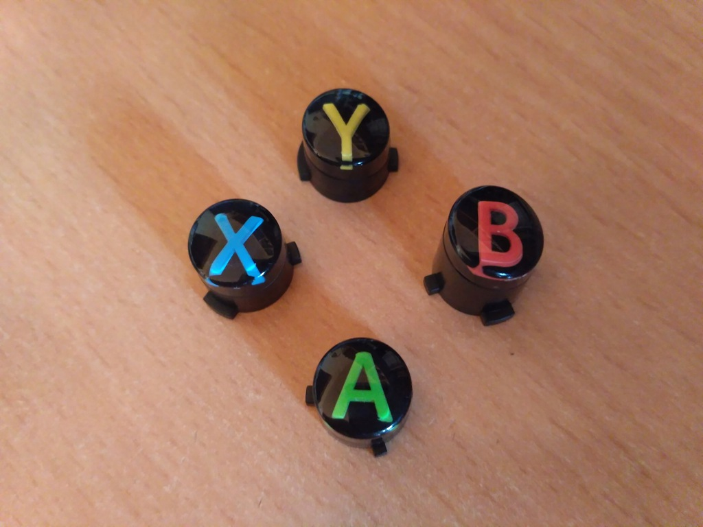 Przyciski Klawisze ABXY do Pada Xbox One