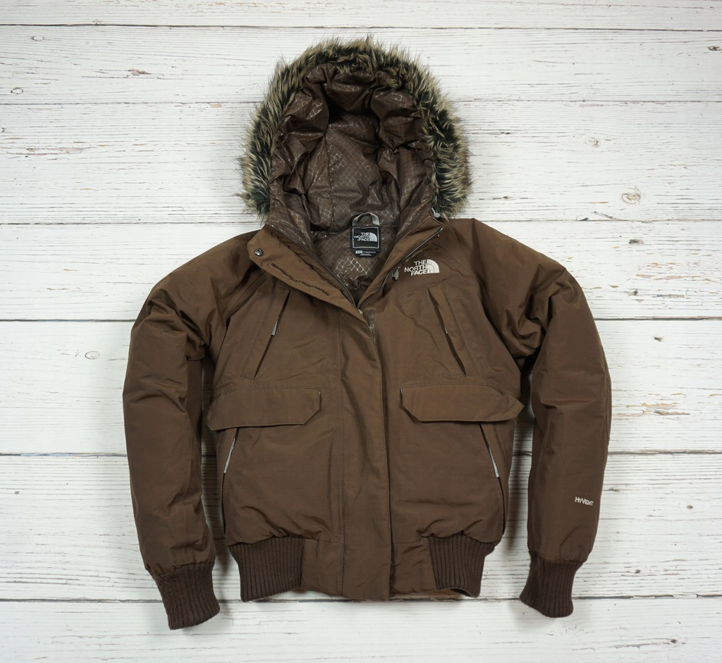 THE NORTH FACE HY VENT KURTKA PUCHOWA GOOSE DOWN M