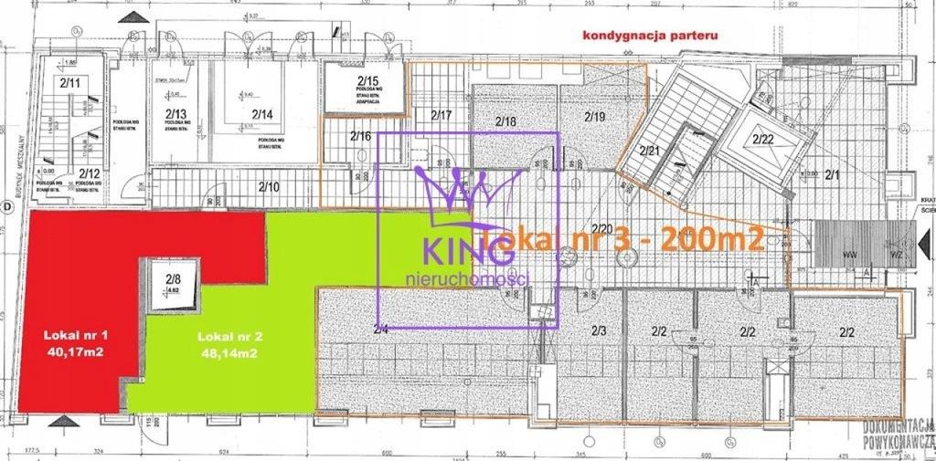 Komercyjne, Szczecin, Centrum, 200 m²