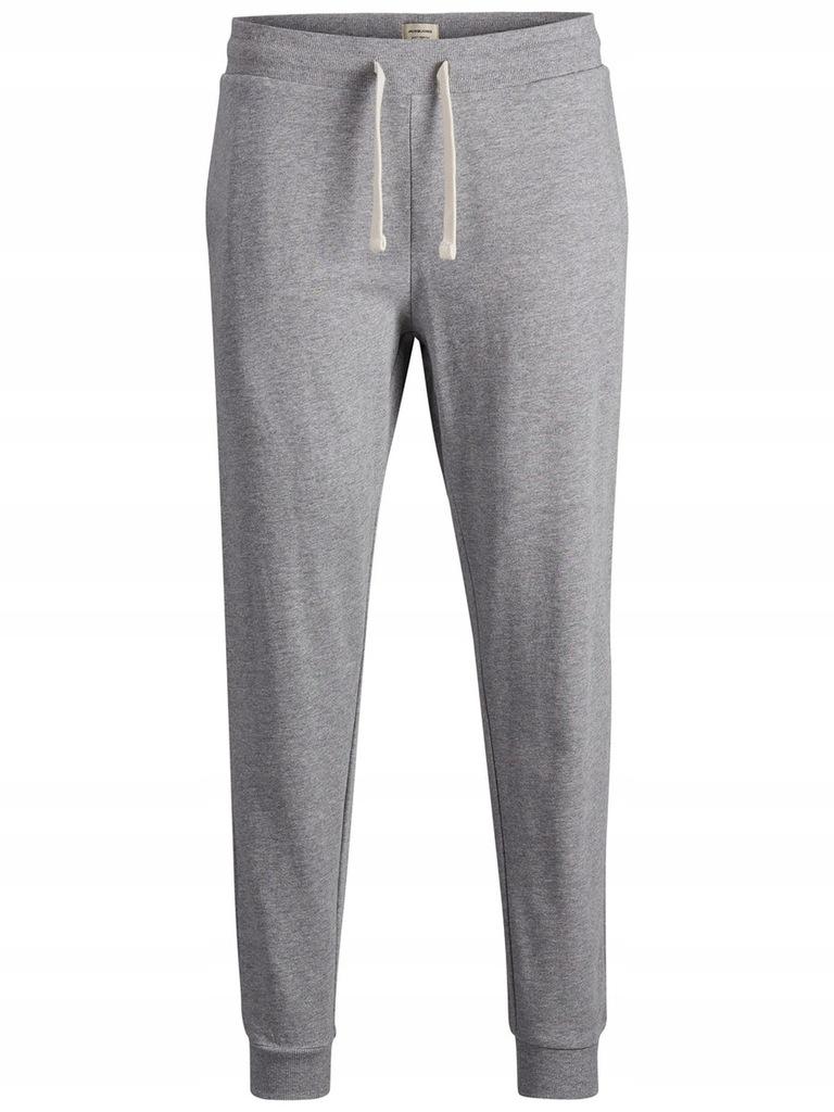 JACK&JONES spodnie dresowe 12136887-GREY r S