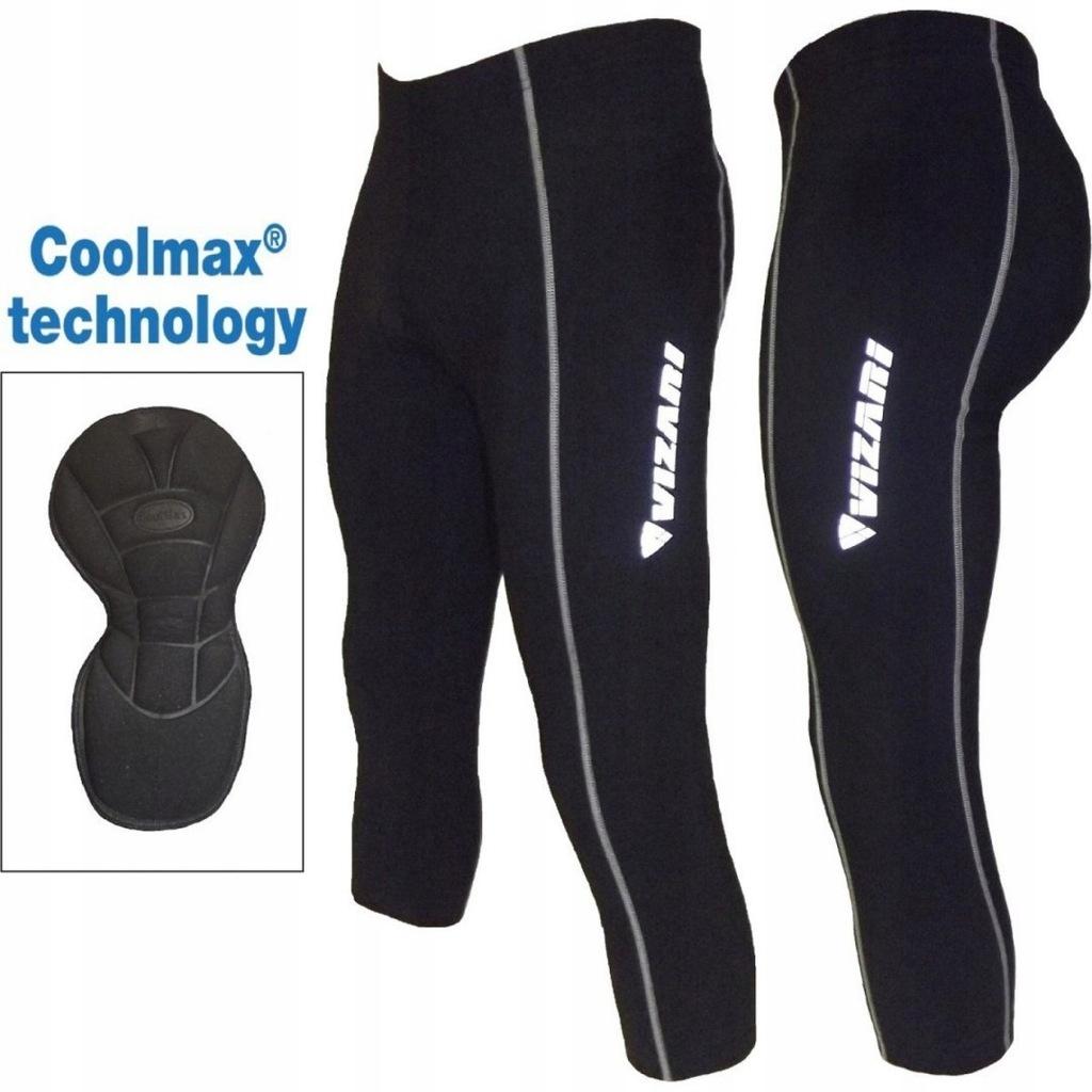 Spodnie rowerowe damskie 3/4 XS