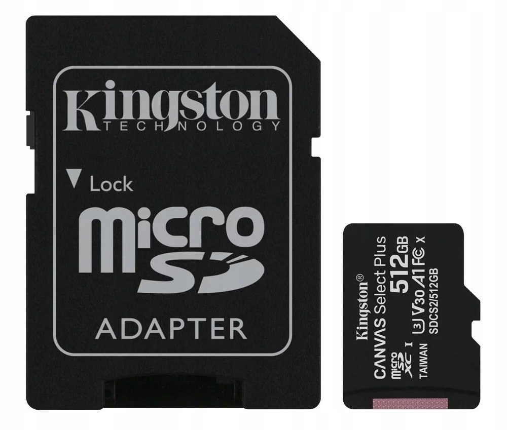 Karta pamięci microSD 512GB Canvas Select Plus 100