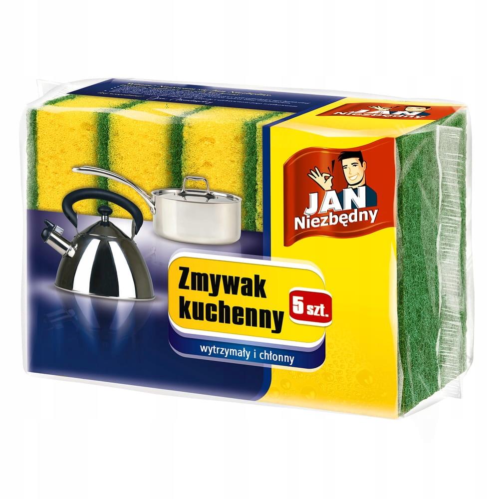 JAN NIEZBĘDNY Zmywak Kuchenny - 5 Sztuk