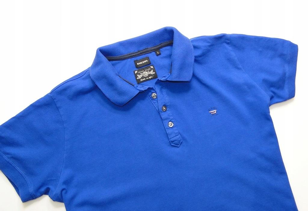 Koszulka DIESEL Polo Blue
