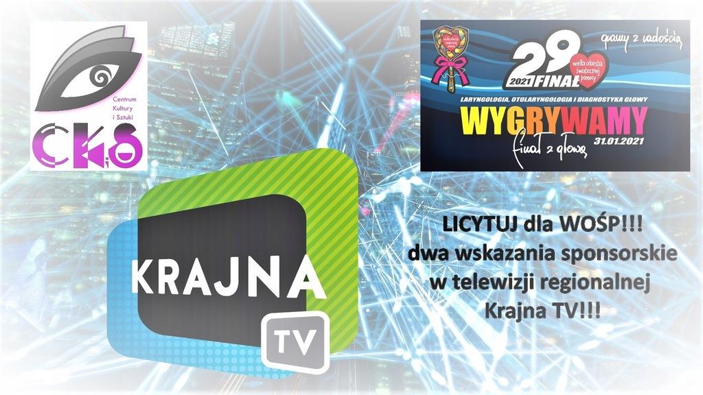 Wskazanie sponsorskie w Krajna TV