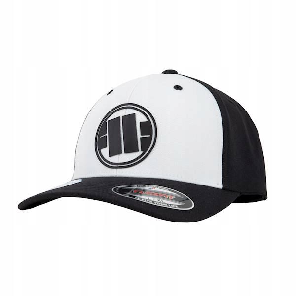 Czapka PIT BULL FULL CAP NEW LOGO WHITE/BLACK