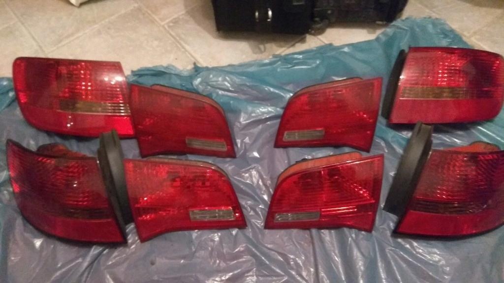 Lampy Tylne Audi A6 C6 Avant Bez Led 7771968426 Oficjalne Archiwum Allegro