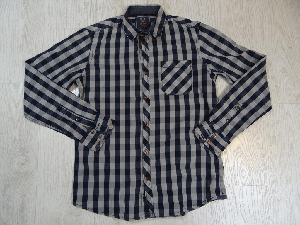 381 GIN TONIC kratka koszula S 7709681030 oficjalne  rMgqa