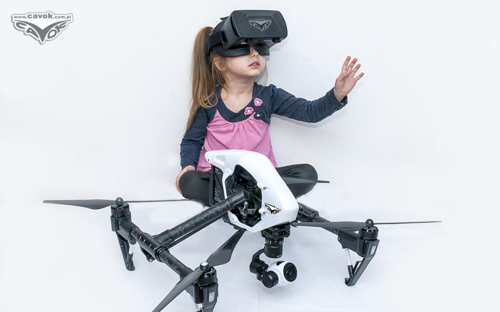 ZOSTAŃ PTAKIEM - DRON + GOGLE VR - WIRTUALNY LOT