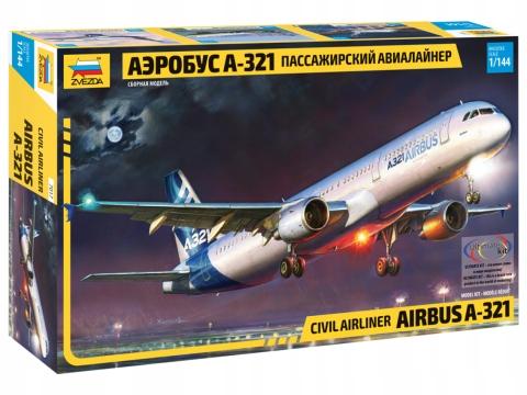 Airbus A-321 - 7017 Zvezda 1/144