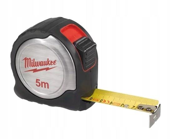 MILWAUKEE C5/19 MIARA STALOWA TAŚMA 5M 19m