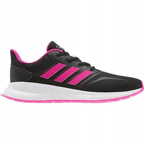 Buty adidas Falcon K czarno różowe 38