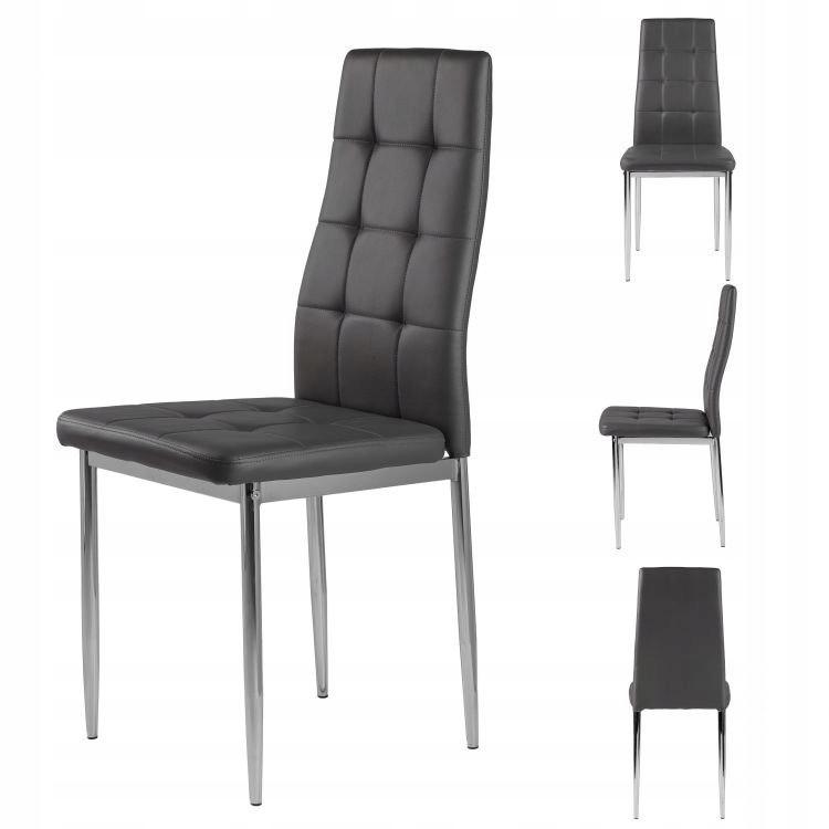 Zestaw krzeseł do salonu 4 sztuki Goodhome