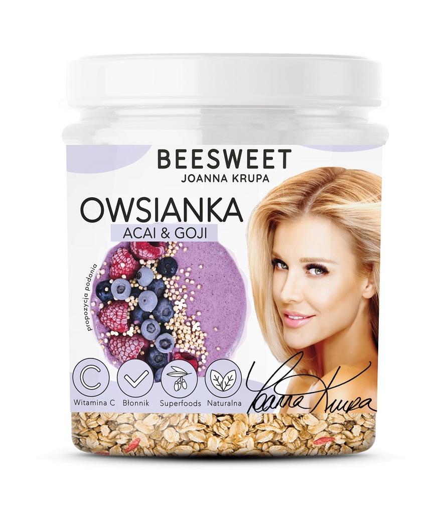 BEESWEET Owsianka Acai & Goji 60g