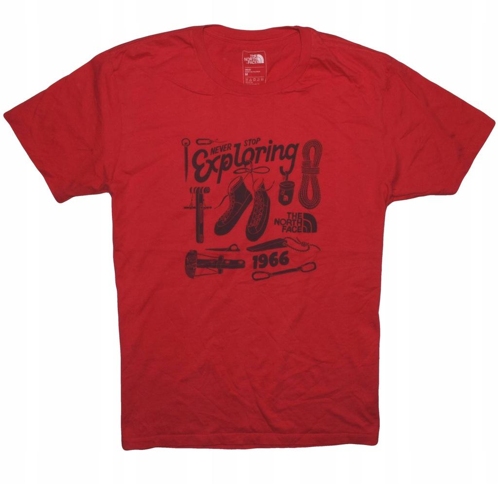 The North Face M koszulka super wzór