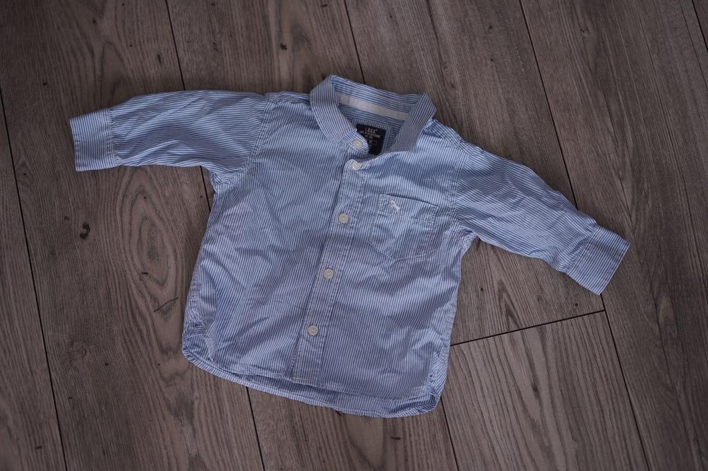 Koszula w paski H&M 68cm jak nowa