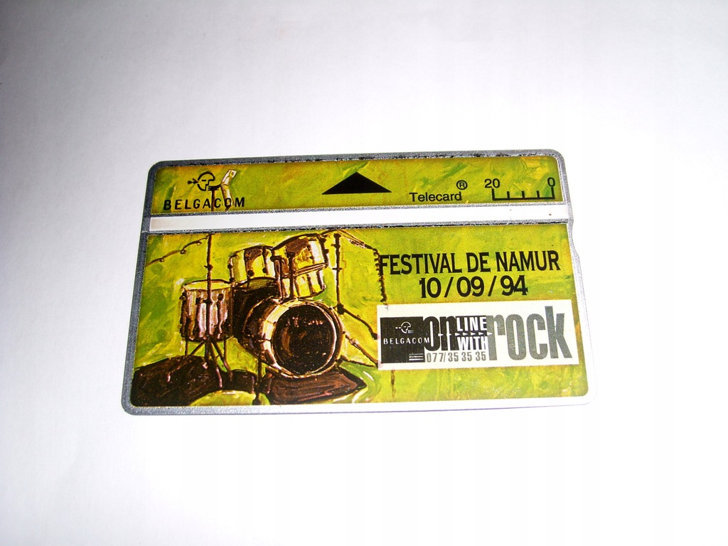 Muzyka - Festival De Namur - rzadkość