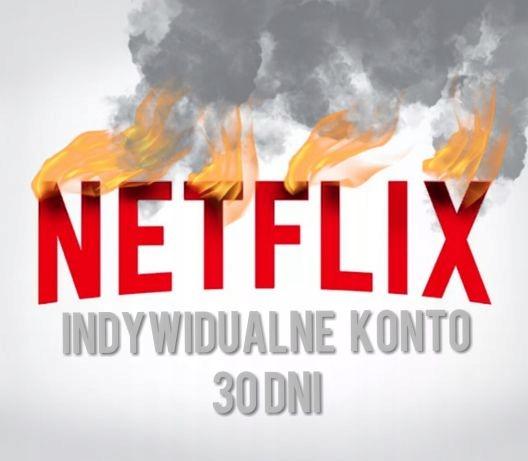 Netflix INDYWIDUALNE KONTO |30dni miesiąc| Szybko