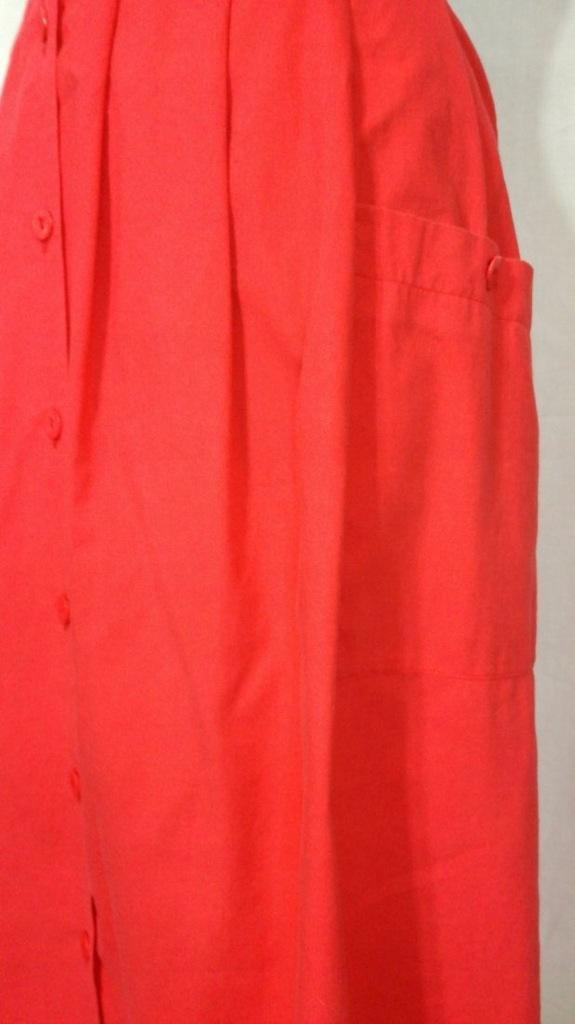 vintage spódnica unikatowa plus size gumka w pasie