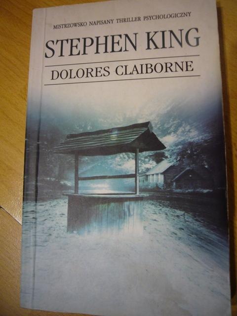 "książka ""Dolores Claiborne"" S.Kinga"