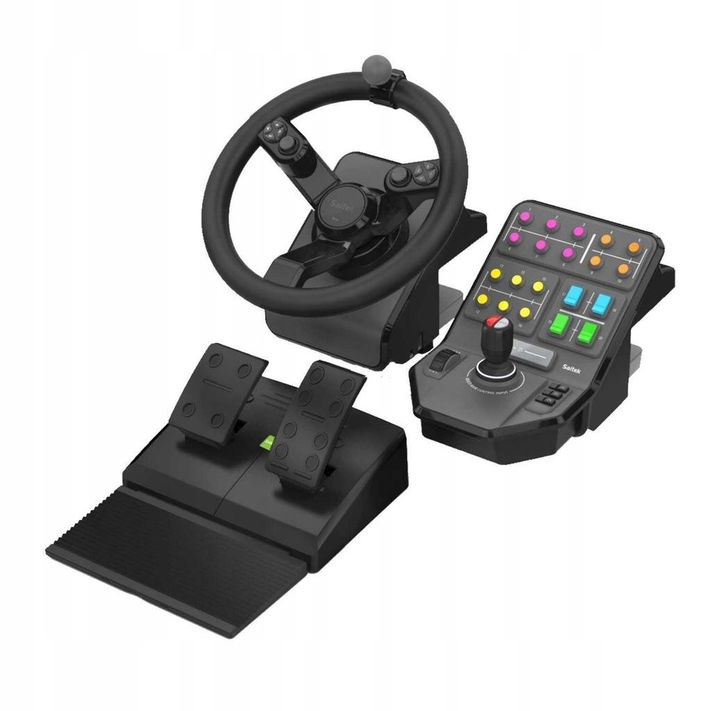 Kierownica Logitech G Saitek Farm Sim Controller 8663872130 Oficjalne Archiwum Allegro