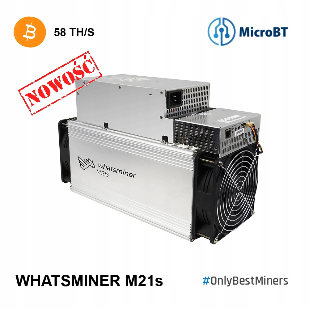 Antminer! Whatsminer MicroBT M21s 58TH S17