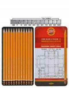 Zestaw ołówków grafitowych Koh I Noor 1502 12 szt.