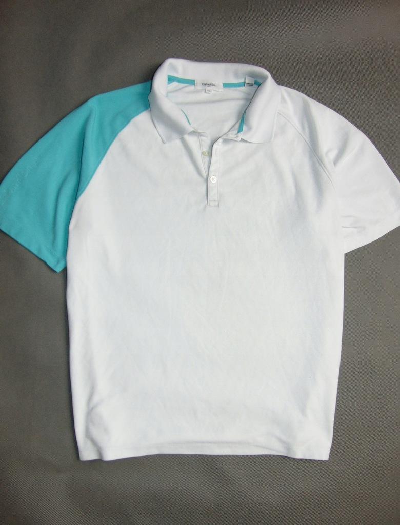 CALVIN KLEIN GOLF koszulka męska polo r L +