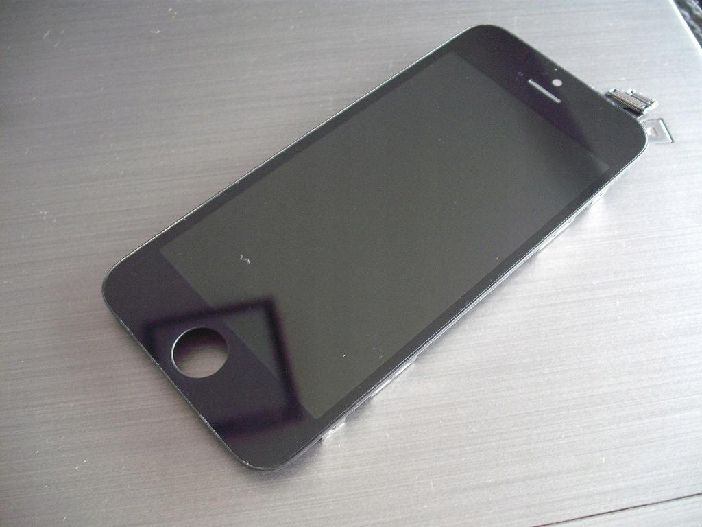 LCD wyświetlacz moduł Iphone 5 czarny