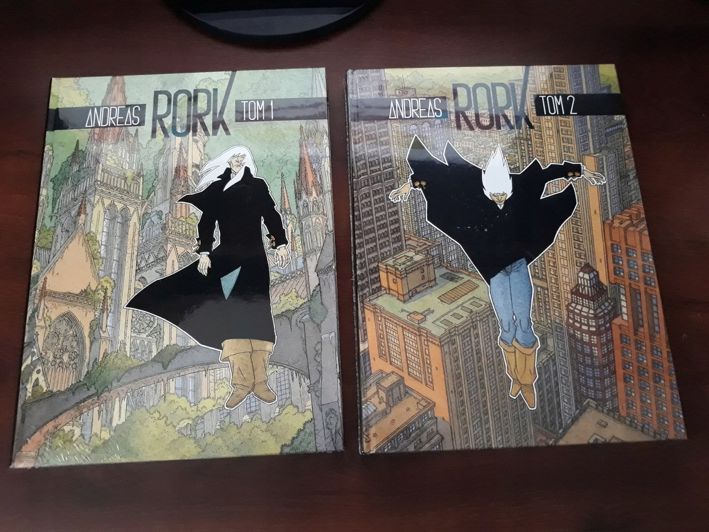 Rork - wydanie zbiorcze, tom 1 i 2 (Andreas)