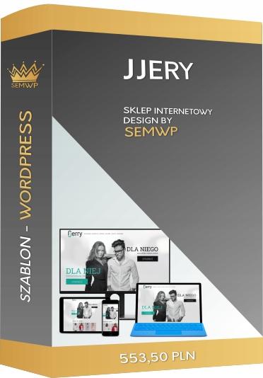 Szablon CMS WordPress Sklep Internetowy JJery