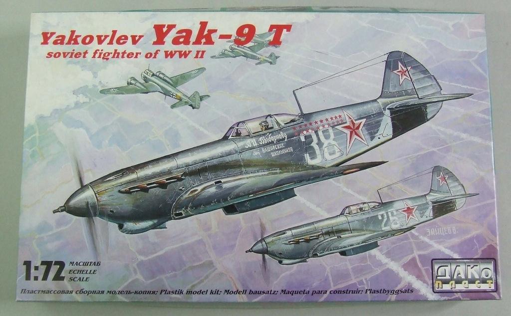 Jak-9T Dako 12004 1/72
