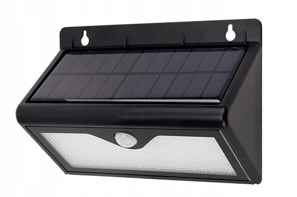 lampy solarne nad garażem