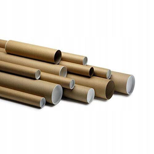5 x wysokiej jakości kartonowe tuby pocztowe A0 z