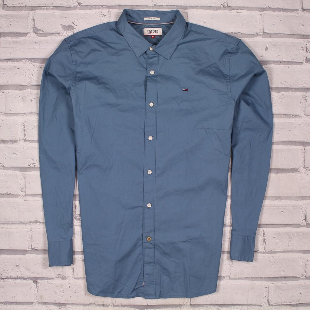 TOMMY HILFIGER Koszula Premium NOWY MODEL SLIM XL