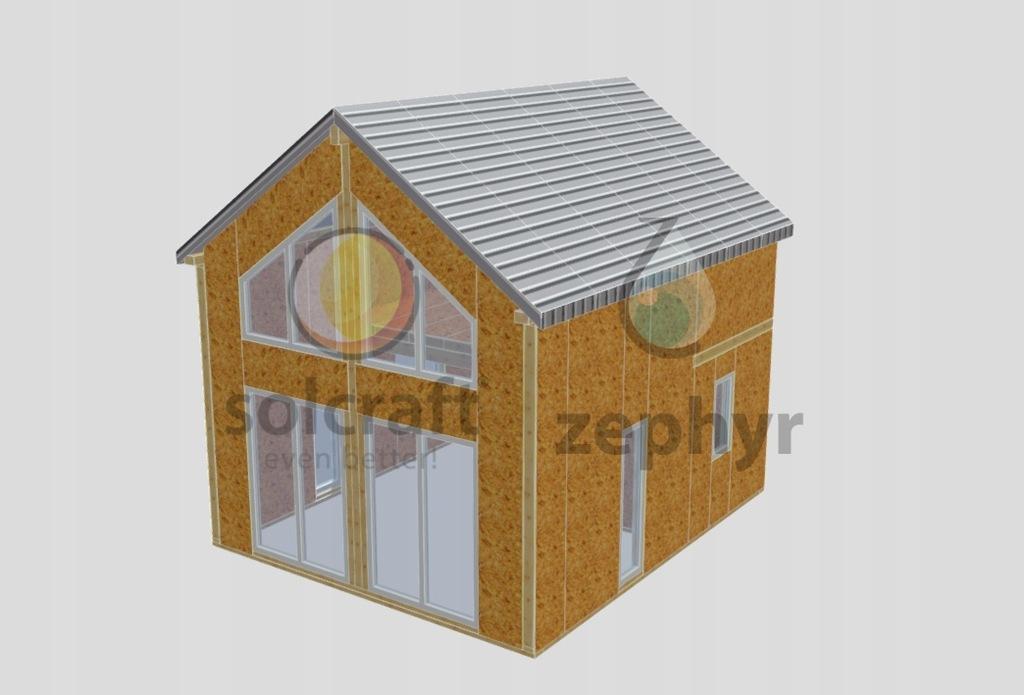 Wysoce energooszczędny dom 35m2 na zgłoszenie