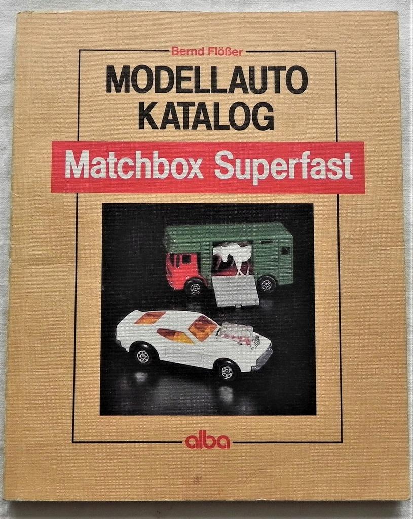 Modellauto Katalog. Matchbox Superfast.