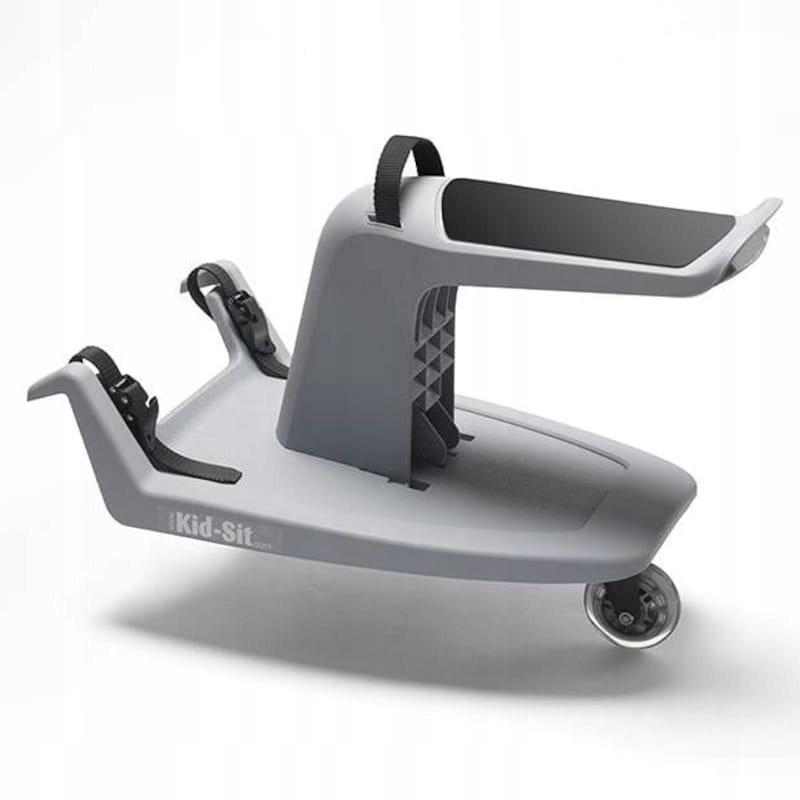 Dostawka do wózka Stone grey + black / Kid-Sit